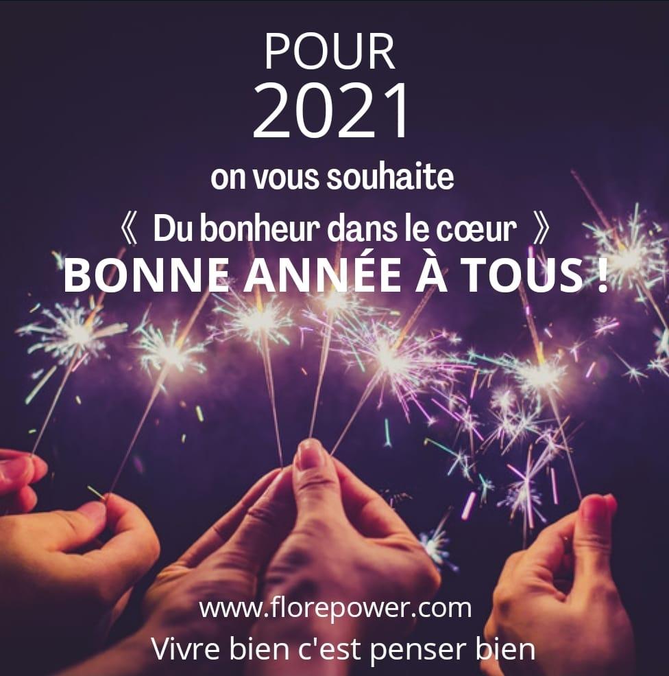 DU BONHEUR DANS LE COEUR POUR 2021