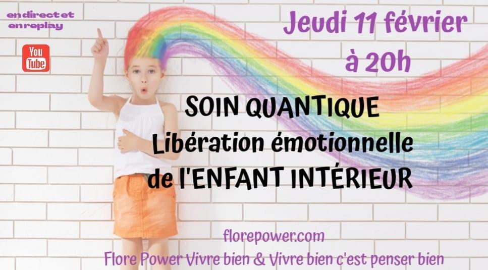 SOIN QUANTIQUE : LIBÉRATION DE L'ENFANT INTÉRIEUR